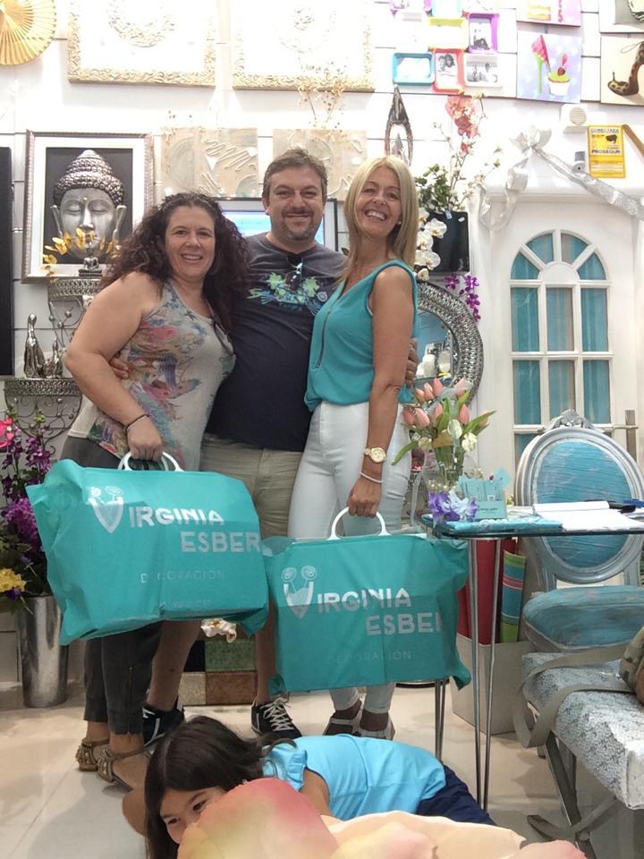 Nos visita Jose Rodriguez y Mª Ángeles Cerbán