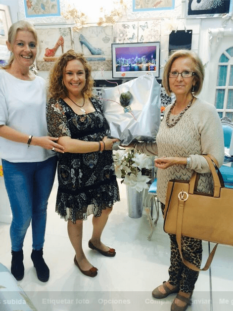 con Ana Mª Triano Ruíz
