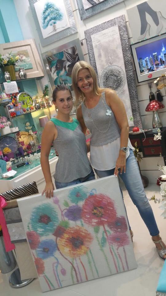 con Marta Ortiz
