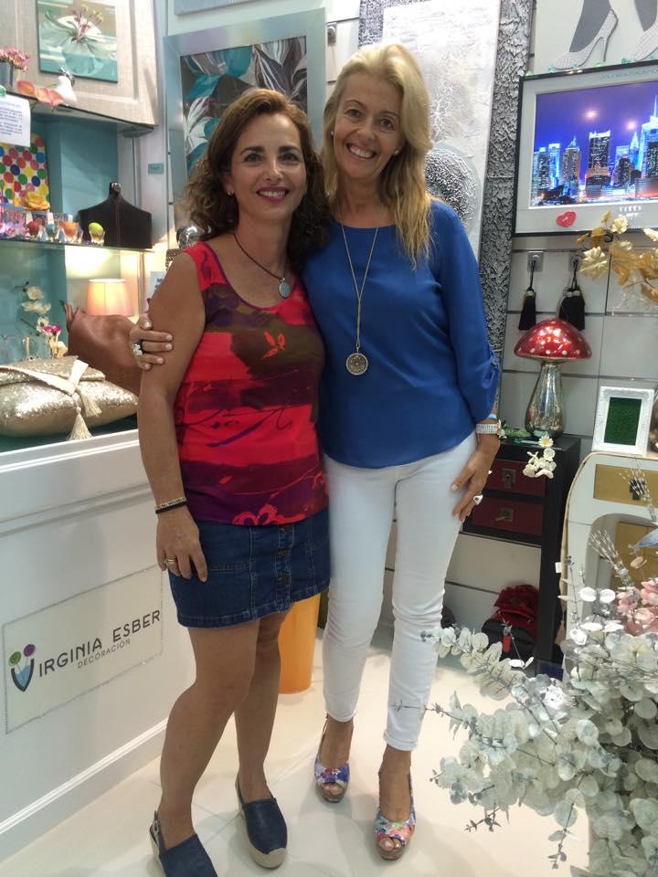 con Sandra Pons