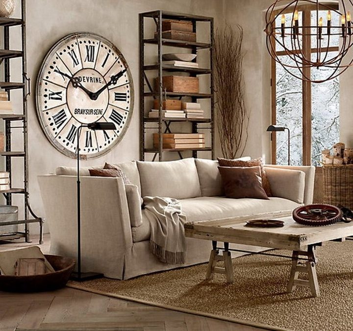 relojes grandes ideas para decorar