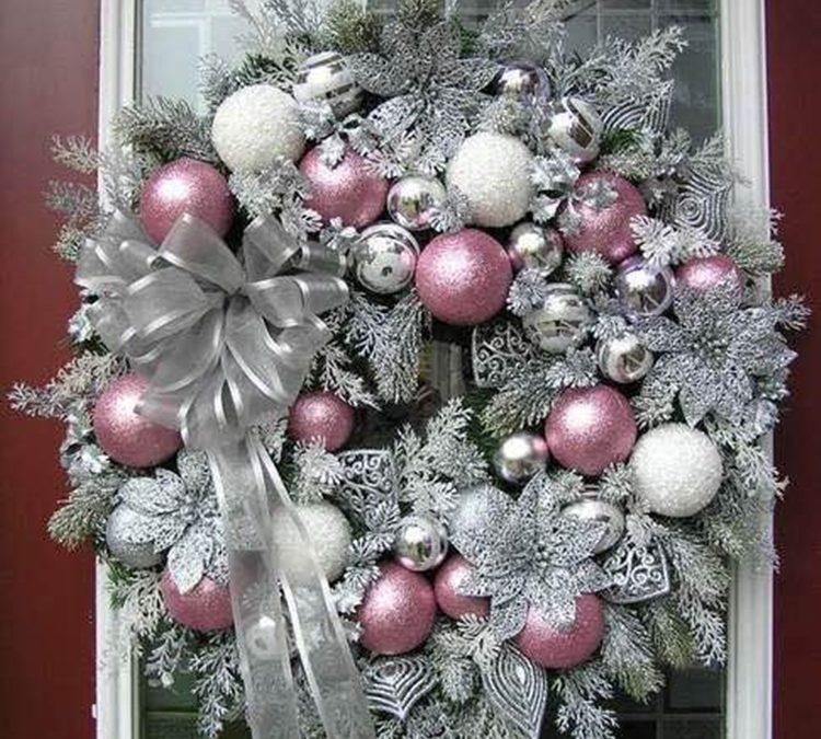 Decora la Navidad en color rosa