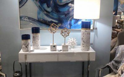 lamparas de sobremesa y recibidores
