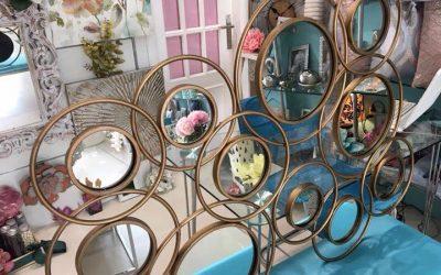 El arte para decorar con espejos