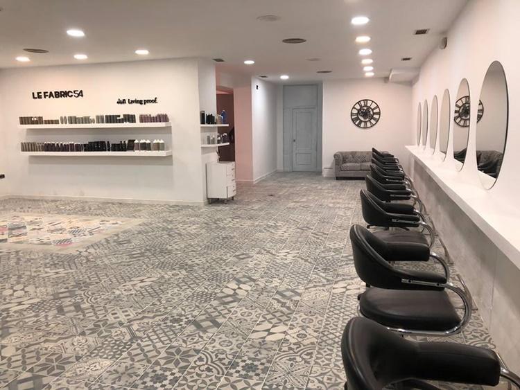 reforma express para la peluquería de Boris Soler
