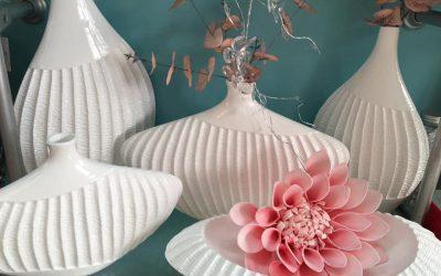 decorar con ceramica en color blanco