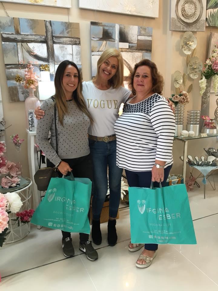 con Rocio Gnez y Maria Enriquez