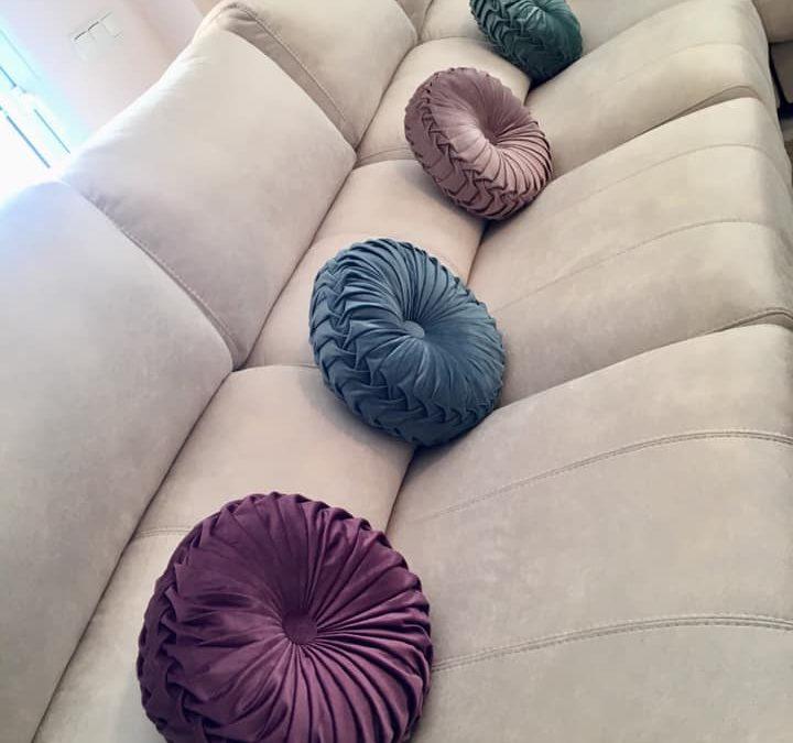 decora con textiles : cojines