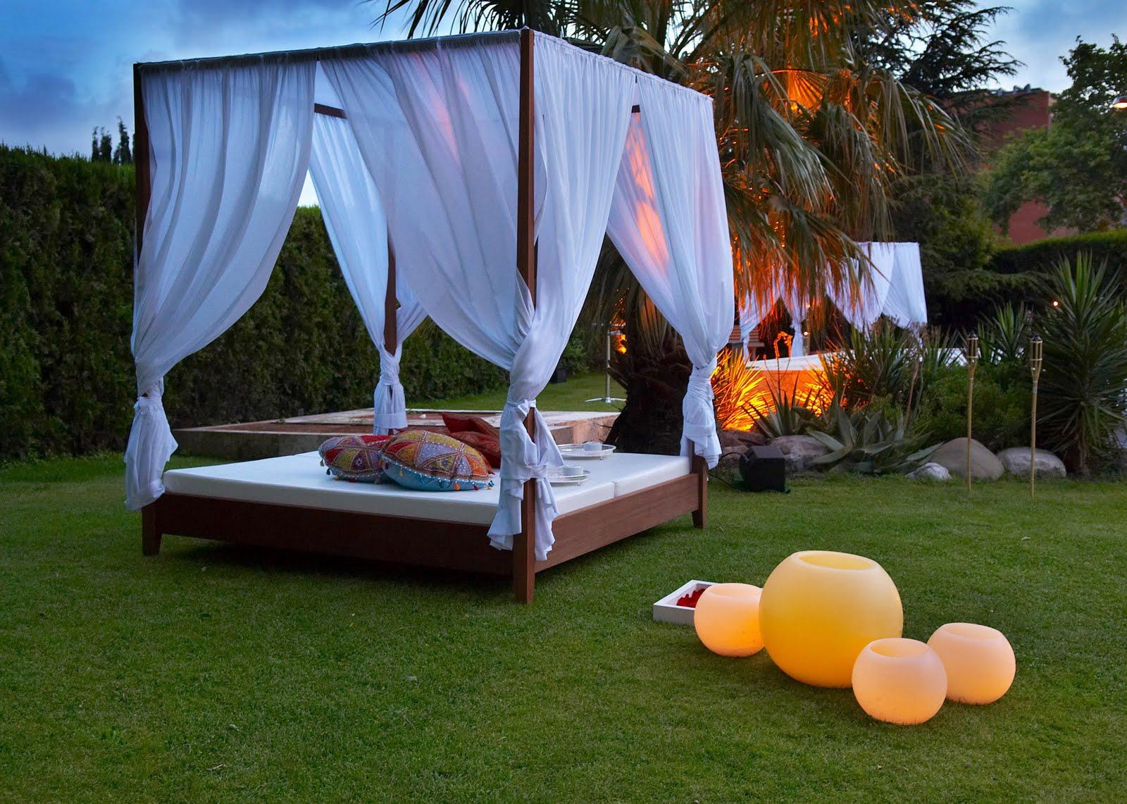 Decora tu terraza o jardin estilo chill out virginia esber - Terraza y jardin ...