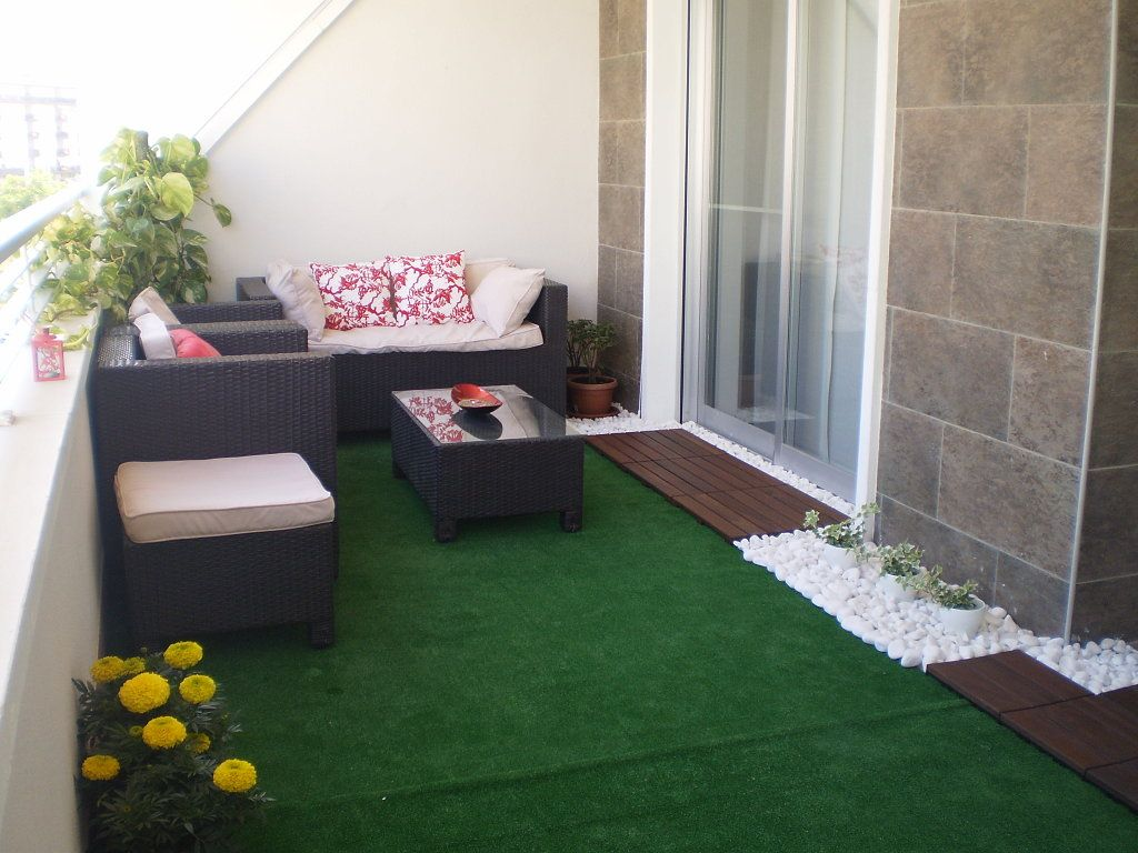 Ideas Decoracion Terraza Cesped Artificial ~ viste tu terraza o jardin con cesped artificial  Virginia Esber