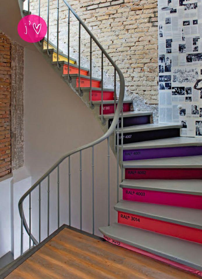 escaleras decoradas 5