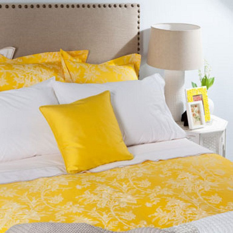 Color amarillo color triunfador para esta temporada for Housse de couette zara home