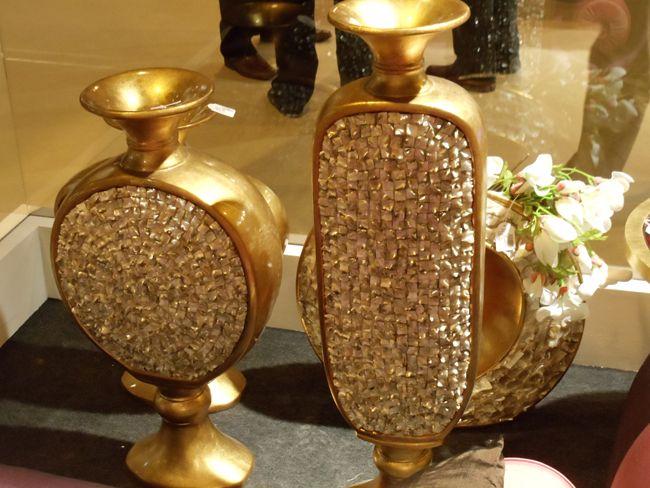 Elementos decorativos dorados VirginiaEs ber Decor