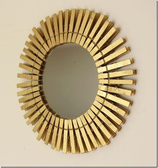 espejo con pinzas VirginiaEsber Decor