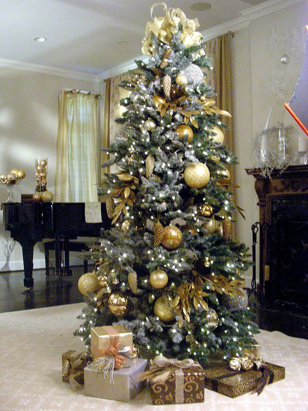 Tendencias en decoraci n para tu arbol de navidad for Decoracion de ambientes modernos