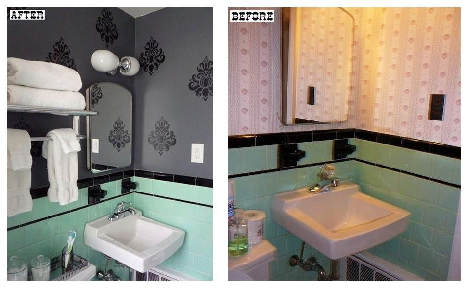 Renueva los azulejos de tu ba o o cocina con esmaltes - Pared cocina pintada ...