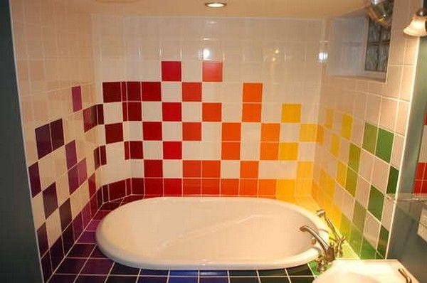 renueva las paredes de tu baño o cocina. Virginia Esber