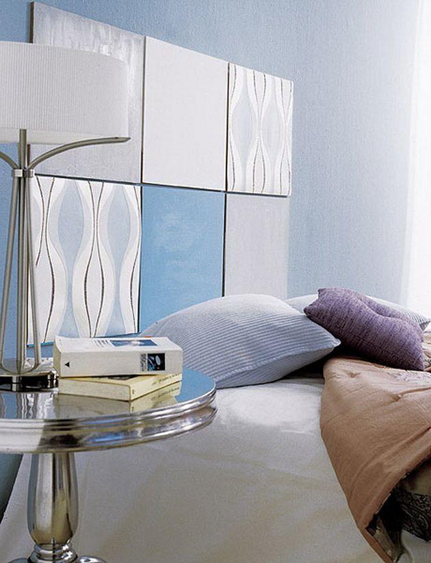 decorar con un cabecero de cama
