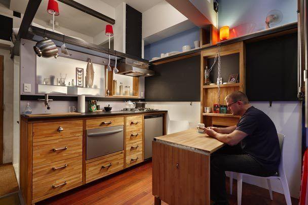 mini apartamento de 16 m2 en Seattle 5. Virginia Esber