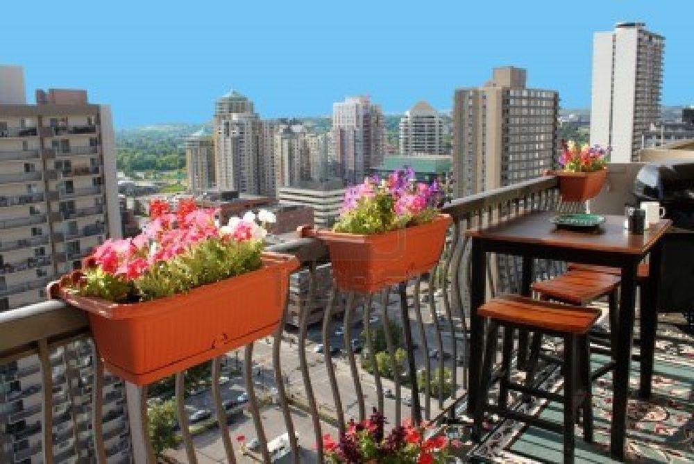 Decora tu pequeño balcón o terraza para este Verano