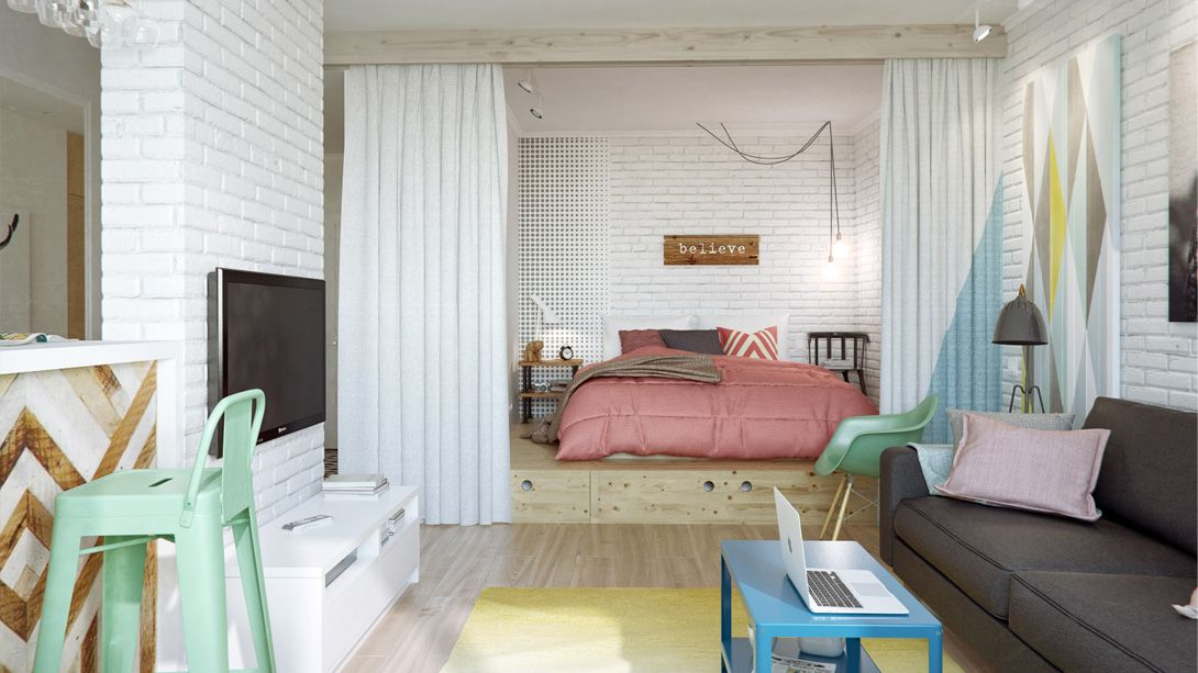 pequeo apartamento decorado funcional virginia esber