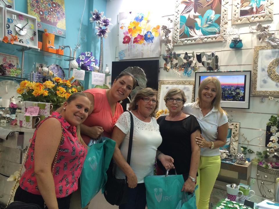 Nos visitó Inma Vazquez y Lourdes Calleja