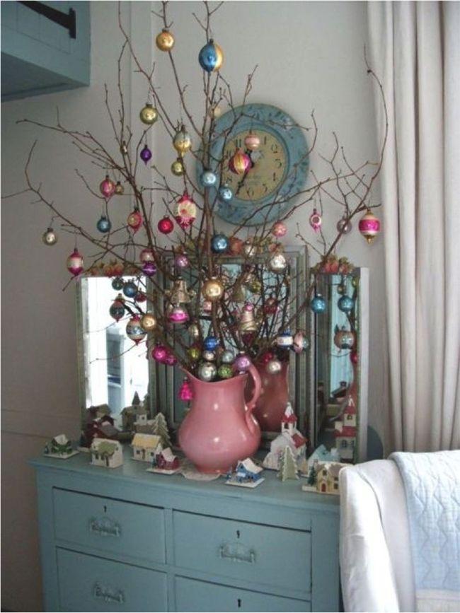 ideas brillantes para decorar la navidad 12