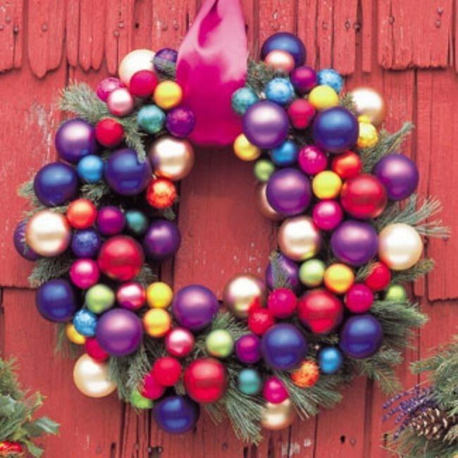ideas brillantes para decorar la navidad 2