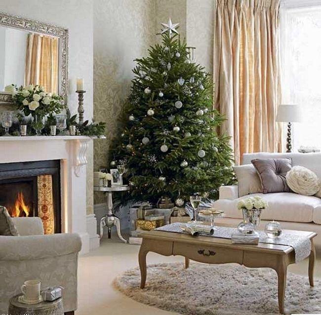 ideas brillantes para decorar la navidad 23
