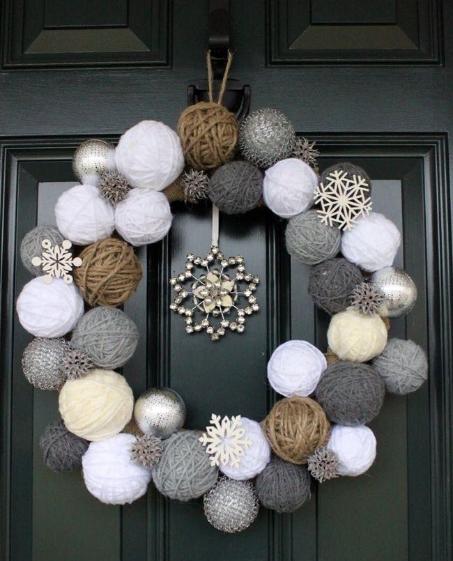 ideas brillantes para decorar la navidad 8