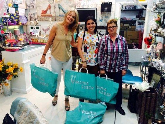 con Victoria Eugenia Herrera