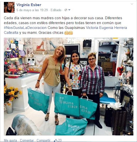 2015-05-05 con Victoria Eugenia Herrera