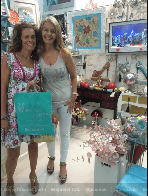 con Noelia Moreno Sepúlveda