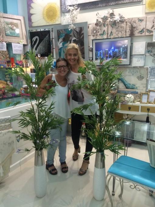 con Mónica Barranco Carrasco