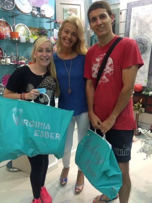 con Jesica Moreno Guerrero