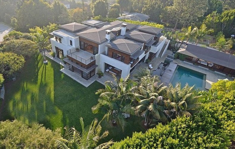 mansion de Matt Damon 1