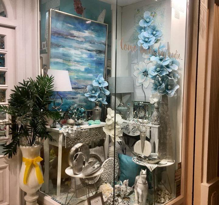 nuevos ambientes en recibidores, cuadros, elementos decorativos.