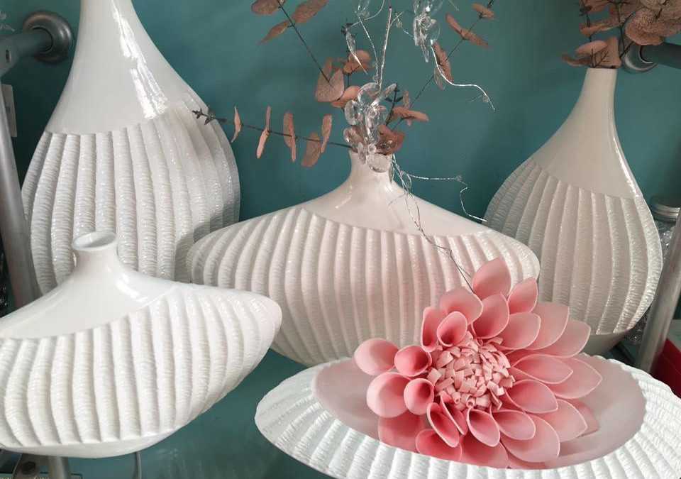 decorar con ceramica en color blanco