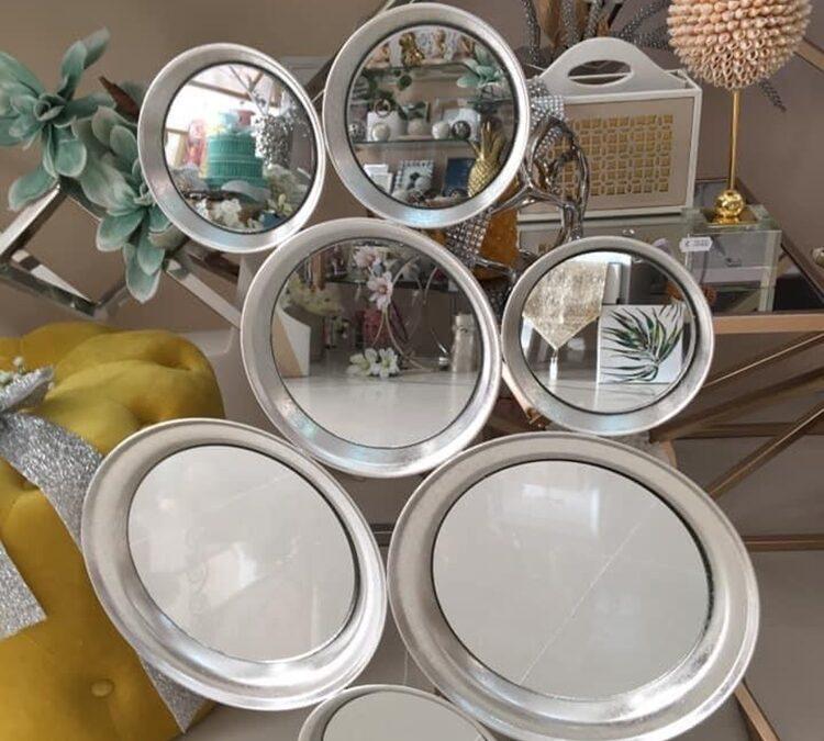 la magia de decorar con espejos